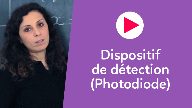 Dispositif de détection (Photodiode)