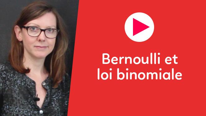Bernoulli et loi binomiale