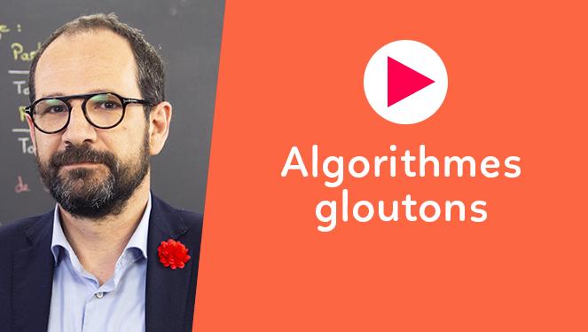Algorithmes gloutons