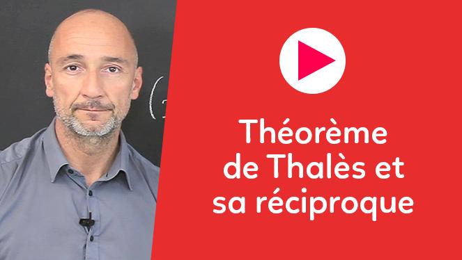 Théorème de Thalès et sa réciproque