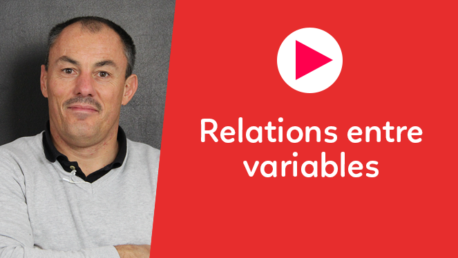 Relations entre variables