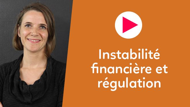 Instabilité financière et régulation