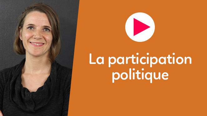 La participation politique