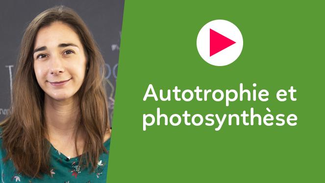 Autotrophie et photosynthèse