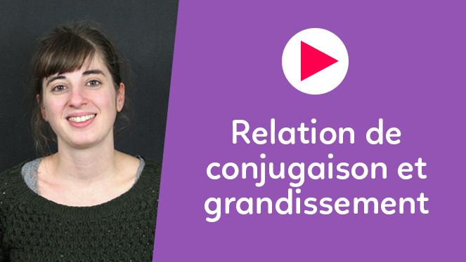 Relation de conjugaison et grandissement
