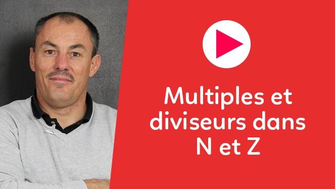 Multiples et diviseurs dans N et Z