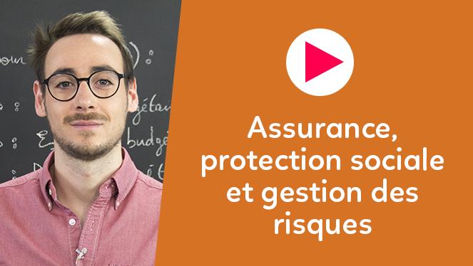 Assurance, protection sociale et gestion des risques