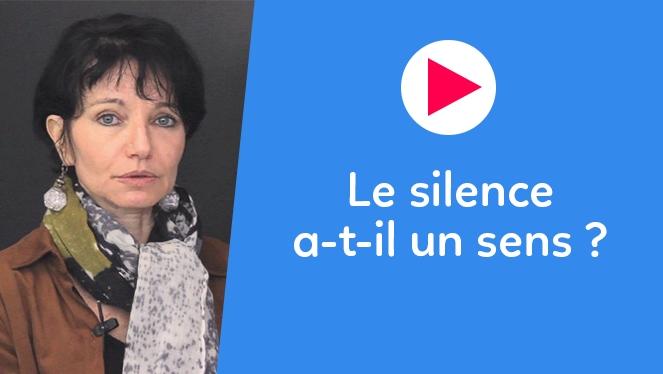 Le silence a-t-il un sens ?