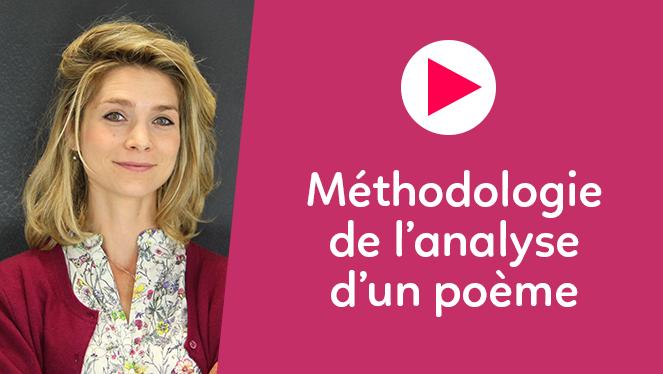 Méthodologie de l'analyse d'une poème