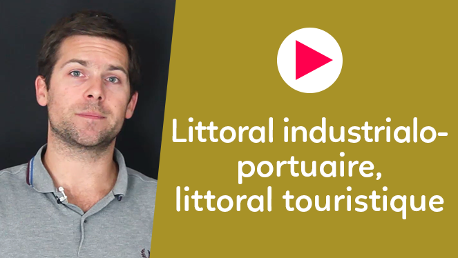Littoral industrialo-portuaire, littoral touristique
