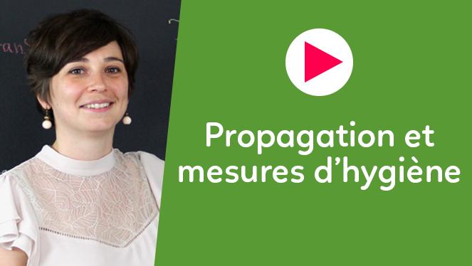 Propagation et mesures d'hygiène