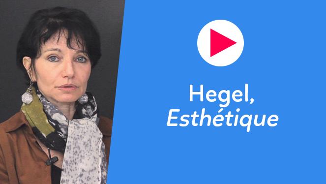 Hegel, Esthétique