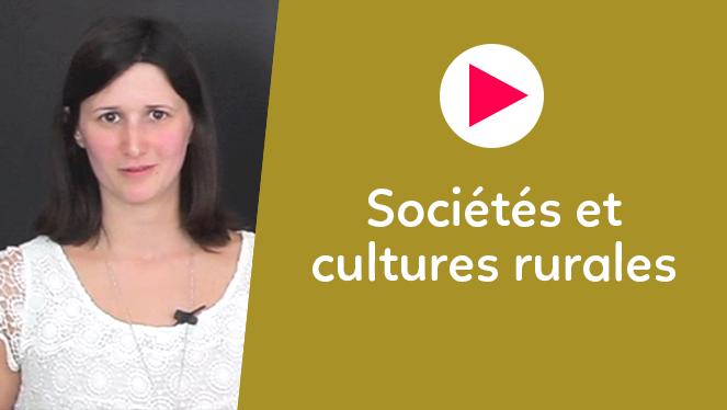 Sociétés et cultures rurales