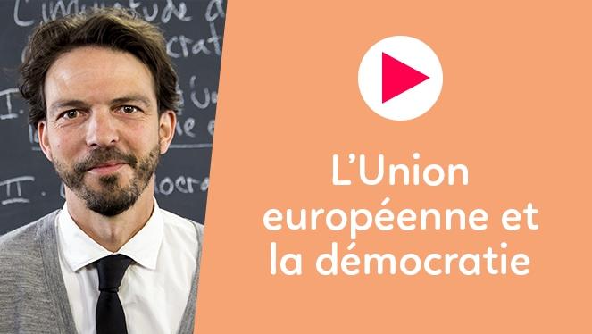 L'Union européenne et la démocratie