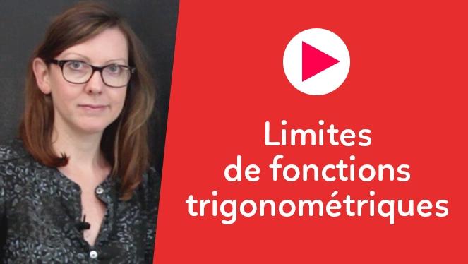 Limites de fonctions trigonométriques