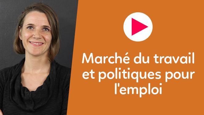 Marché du travail et politiques pour l'emploi