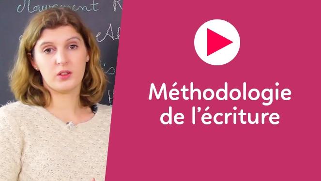 Méthodologie de l'écriture
