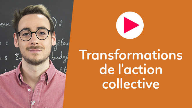 Transformations de l'action collective