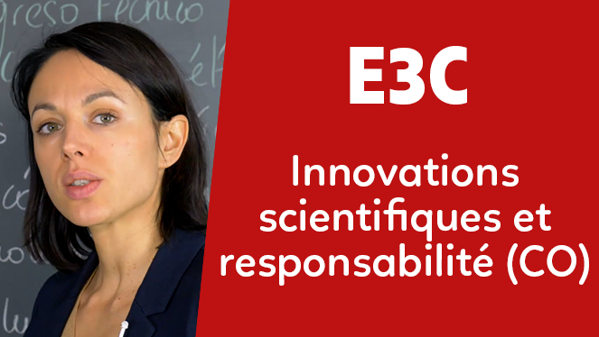E3C - Innovations scientifiques et responsabilité (CO)