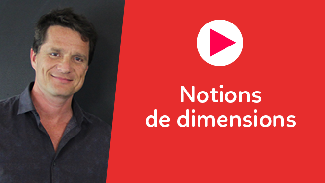Notions de dimensions