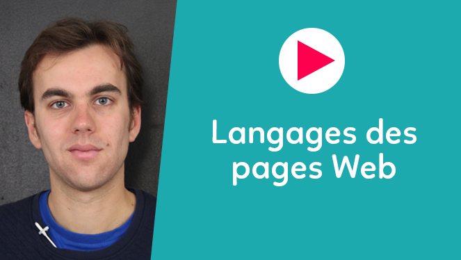 Langages des pages Web