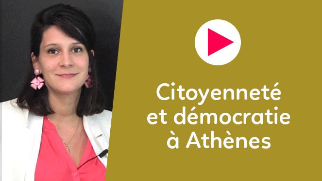 Citoyenneté et démocratie à Athènes