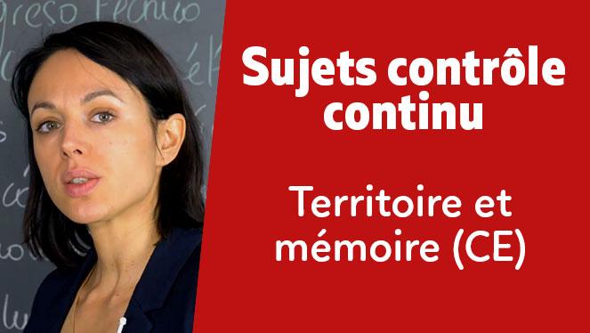 Territoire et mémoire (CE)