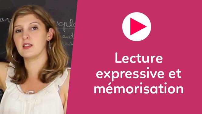 Lecture expressive et mémorisation