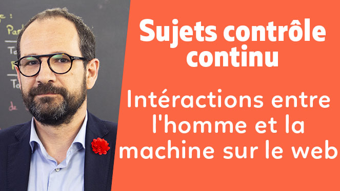 Interactions entre l'homme et la machine sur le web