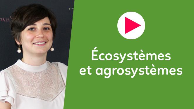 Ecosystèmes et agrosystèmes