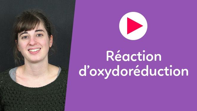 Réaction d'oxydoréduction